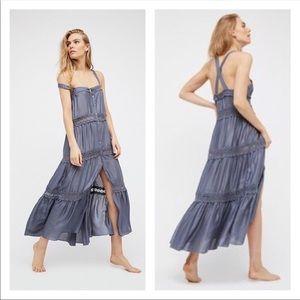 Intimately Free | Helena Slip Dress Slate Gray